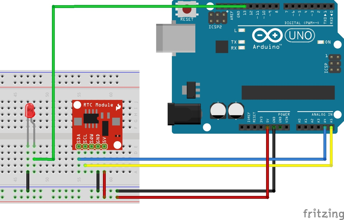 Arduino start sketch